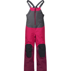 Bergans Kids Ruffen Insulated Salopette Dark Sorbet/Jam